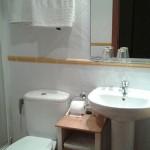Baño habitación casa rural