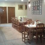 Comedor casa rural Ra Tenaja